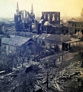 Galveston after the great storm of 1900, the deadliest natural disaster in U.S. history