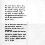 German poetry on Italo Svevo's business letterhead as used during World War I.